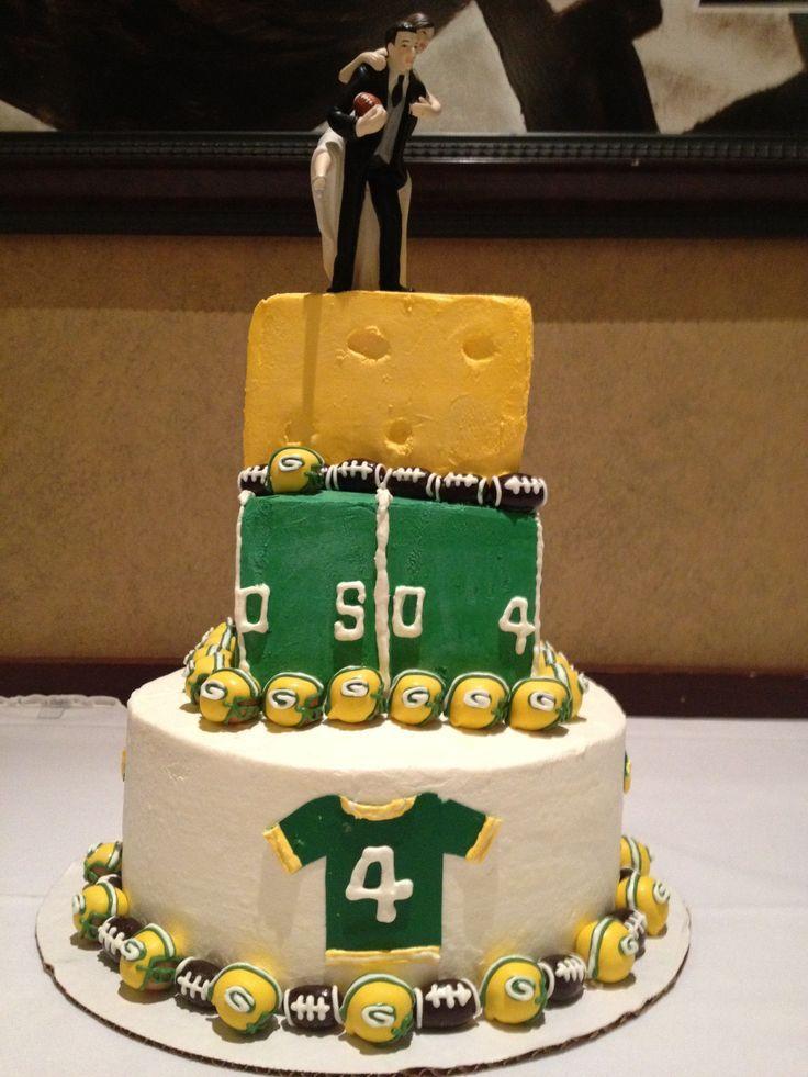 Green Bay Packers Wedding | Green Bay Packers Wedding Cake by Eva ...