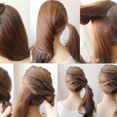 Thick Side Pony Hair Style For Ladies Click On Picture To Read More Ponytail Hairstyles Easy Hair Styles Long Hair Styles