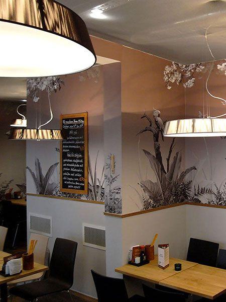 Panorama-Tapete Dschungel #tapete #wallpaper #mural