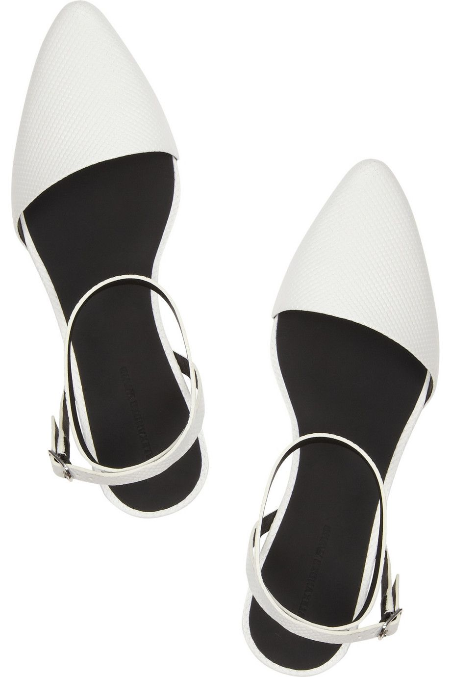 Alexander Wang scored leather flats | Stuff to Buy | Leather