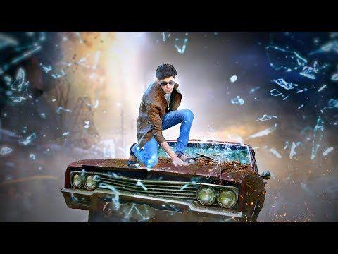 Picsart Manipulation Boy Jump On Car Heavy Movie Poster