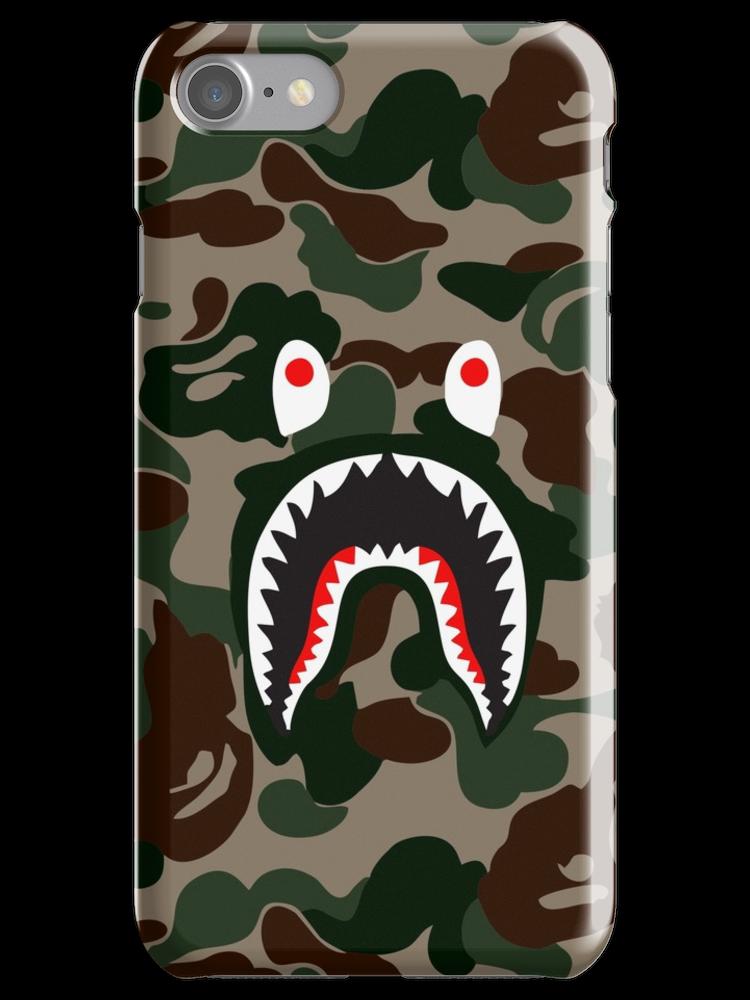 HYPEBEAST x SUPREME x BAPE iPhone 7 Snap Case Bape