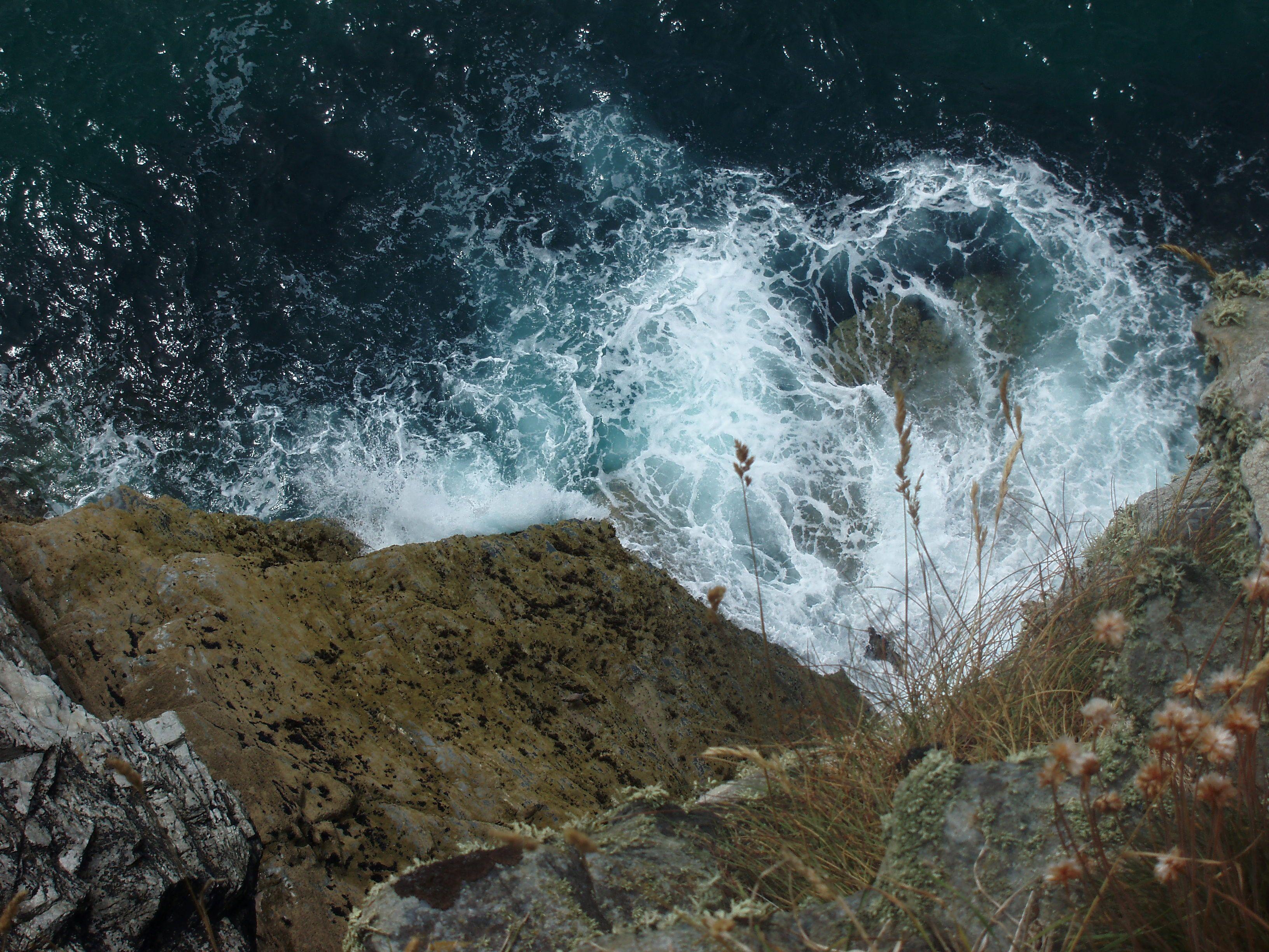 Tintagel coast.  See more on -http://twopixies.deviantart.com