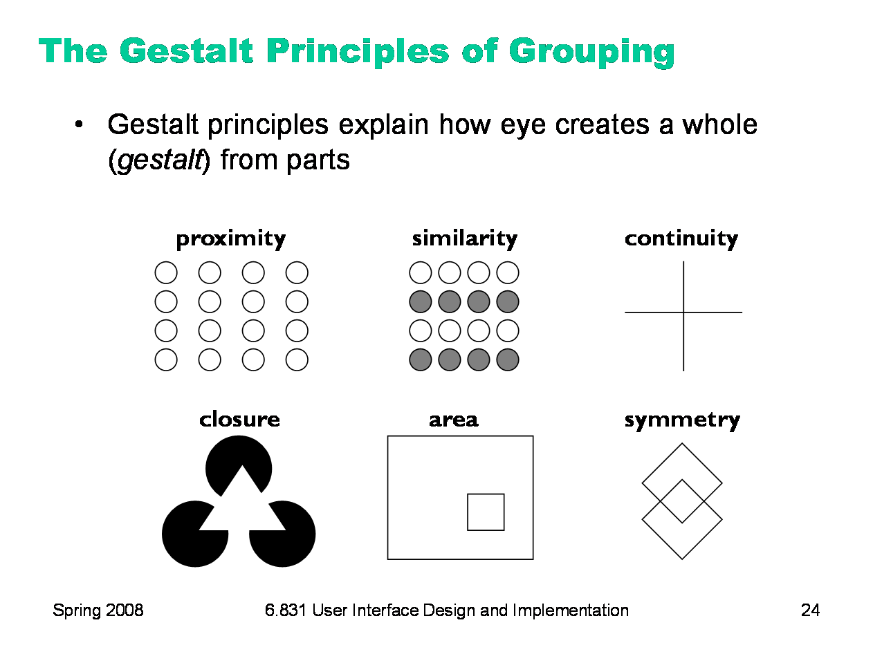 Close Gestalt - what is it Meaning and features 94