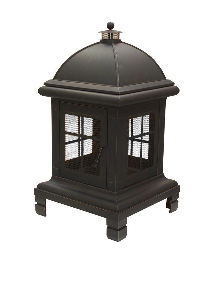 The Hardware Market - Pagoda Design Bronze Fire Pit, $330 ...