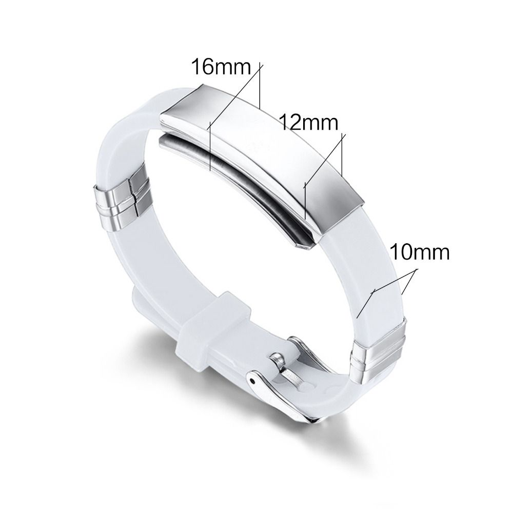 Timed promotions Adjustable Silicone Bracelet Bangle Rubber Sports Wristband Jewelry Like and Share if you want this #Jewelry #shop #beauty #Woman's fashion #Products