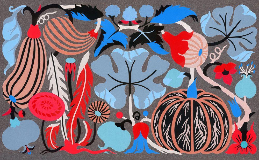 Red Autumn - Illustration