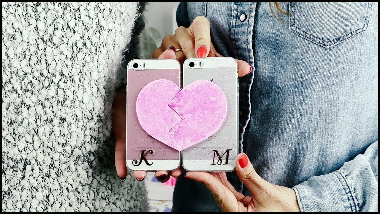 Jak Zrobic Etui Na Telefon Love Na Walentynki Diy Domodi Tv With Images Etui Na Telefon Telefon Diy