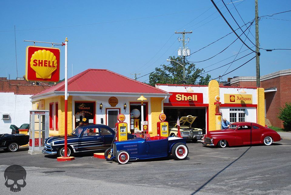 Old Gas Station ! Transportation Pinterest Shell gas