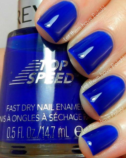 love this blue polish