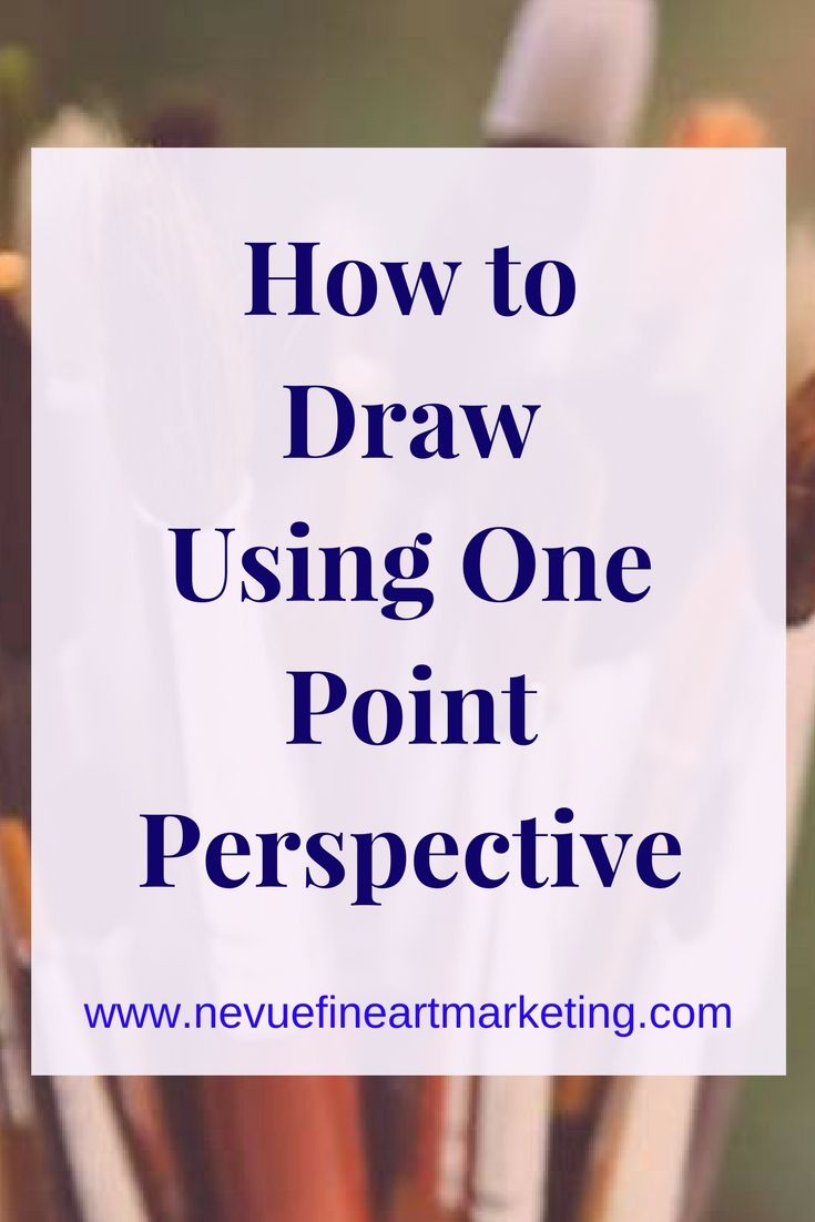 How to draw using one point perspective. Understanding these basic rules will help you to draw what you see.