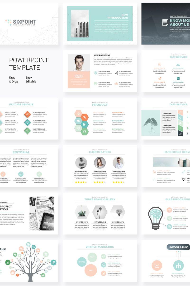 Sixpoint Powerpoint Template 76239 Powerpoint Presentation