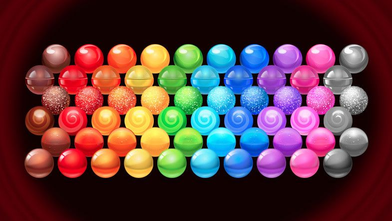 Candy for Puzzle Games