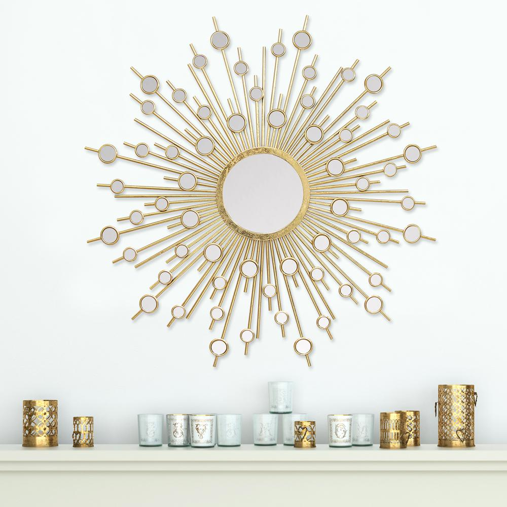 Stratton Home Decor Pia Decorative Wall Mirror Modern Mirror