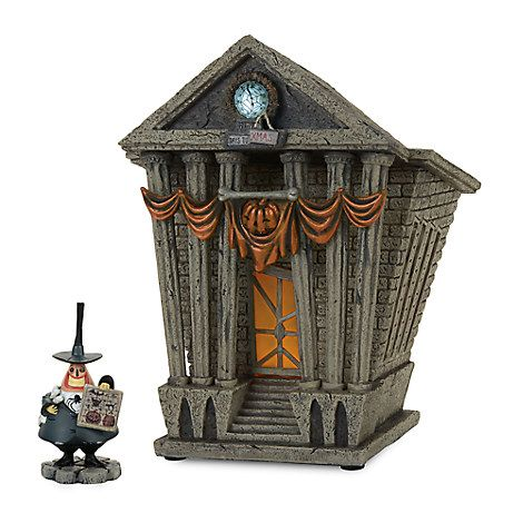 Halloween Town City Hall - Tim Burton\u0027s The Nightmare Before - tim burton halloween decorations