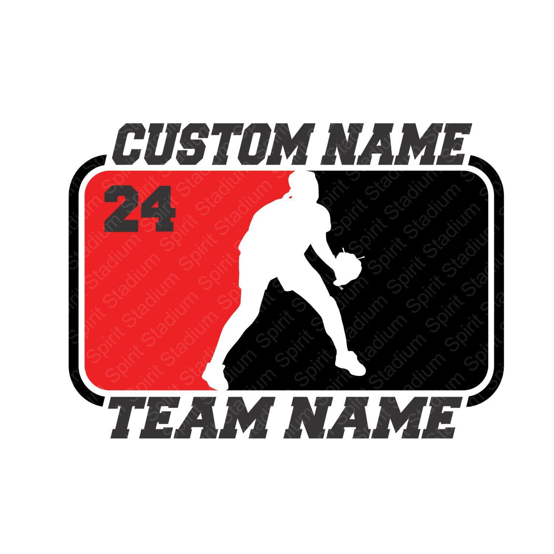 Softball T Shirt Custom 2 Color Split Softball Shirt You Etsy Custom Softball School Spirit Hockey Shirts