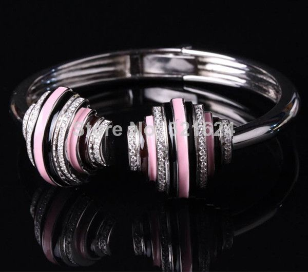 Find More Bangles Information about Free Shipment 2014 New Design Women Fashion Silver With Platinum Plated Bangle,High Quality Bangles from Perfect Jewellery on Aliexpress.com