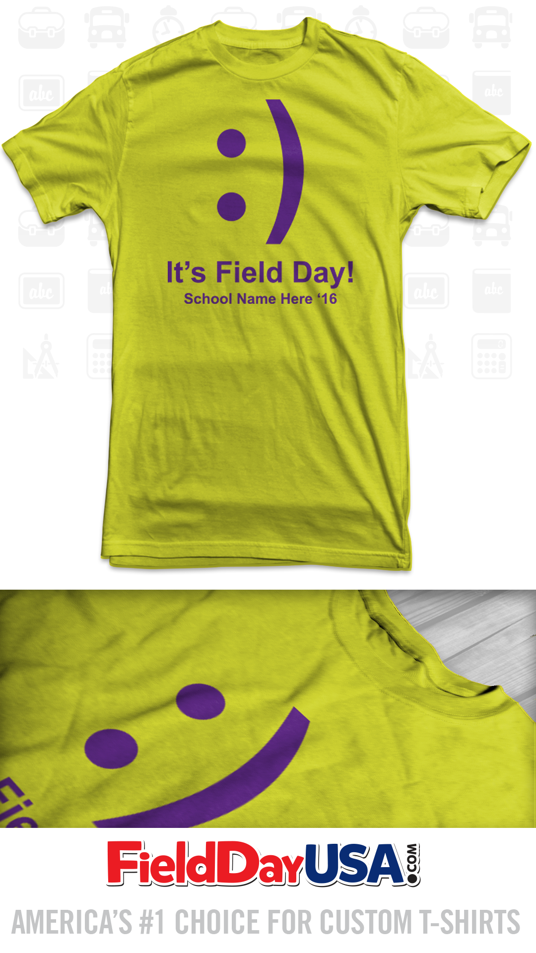 Budget Event Field Day T Shirt Design Be16 03 School Shirts 2016 Shirts Shirt Designs