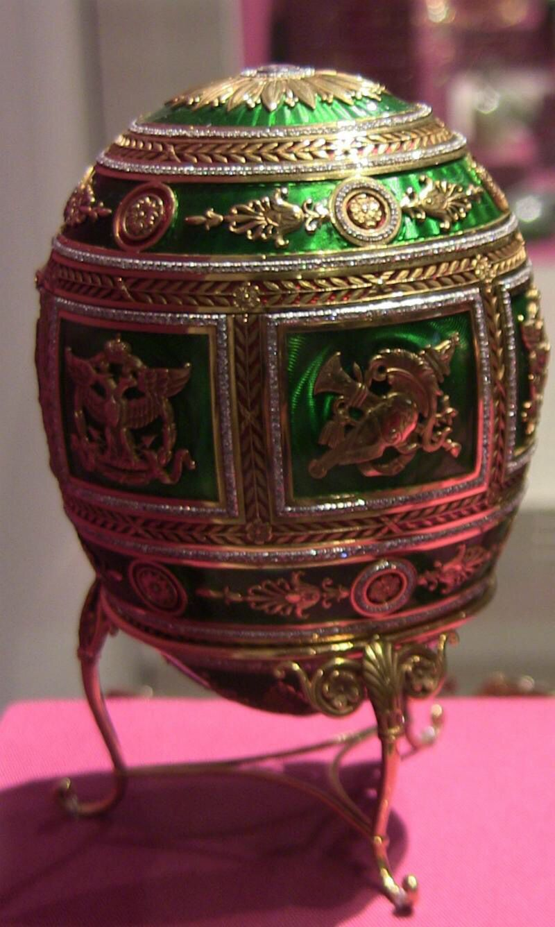 Faberge egg at the MET in NYC.