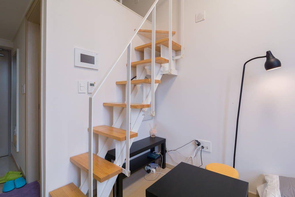 Échale un vistazo a este increíble alojamiento de Airbnb: Duplex studio Itaewon@Hongdae - Departamentos en alquiler en Yongsan-gu