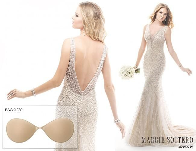 Maggie Sottero has your guide on what to wear under your wedding ...