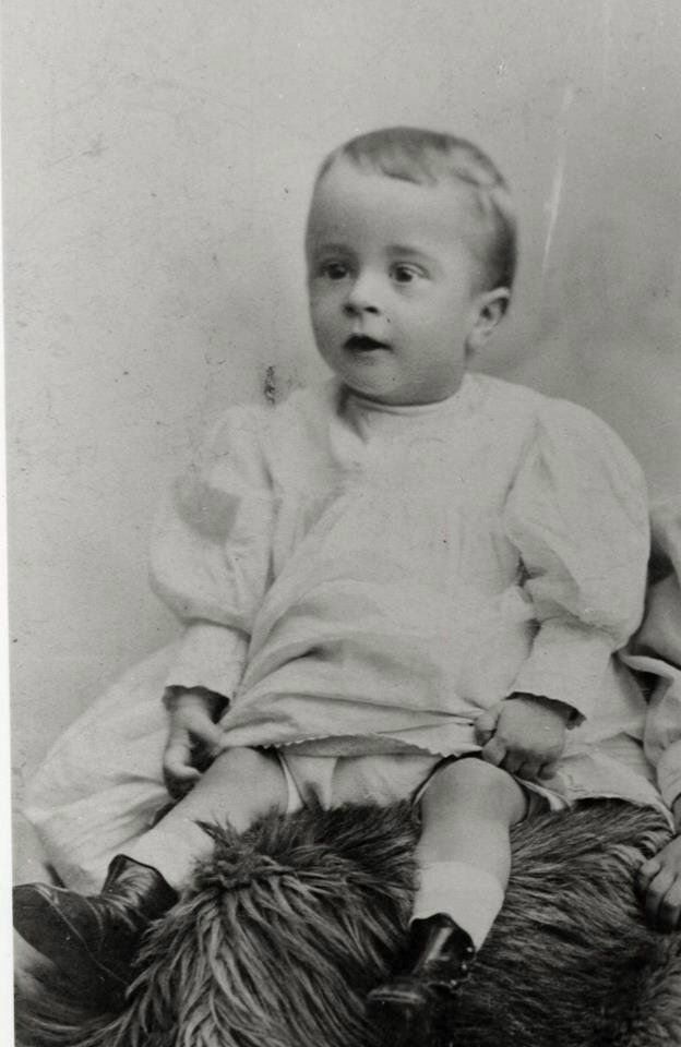 Born on February 3, 1894 in New York City. Baby photo of Norman Rockwell, c. 1894. Photographer unknown. Norman Rockwell Museum Digital Collections. ©Norman Rockwell Family Agency. All rights reserved.
