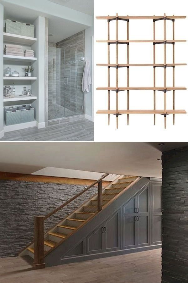 Small Basement Bathroom Ideas | Unfinished Basement Decorating Ideas On A Budget… | 1000 - Modern |