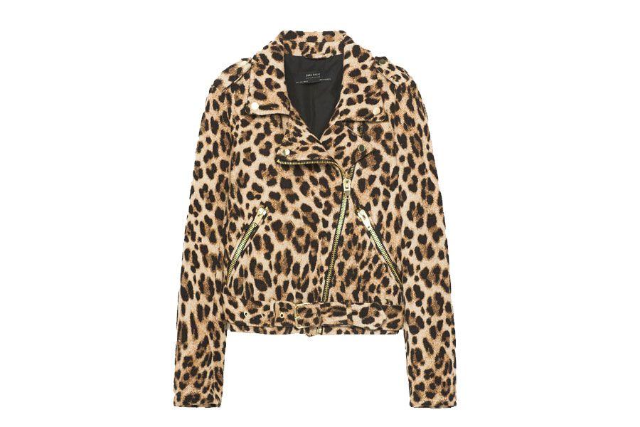 pensamientos sobre venta más barata gran venta Biker leopardo Zara | Moda Femenina para mayores de 50 ...