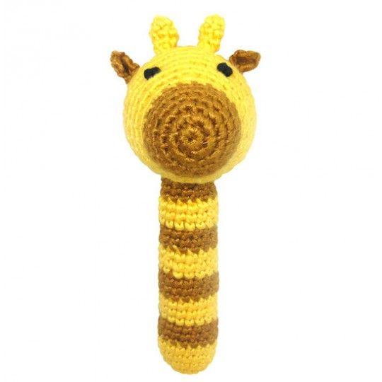 Naturezoo Gehäkelte Rassel Giraffe Crochet Pinterest Baby