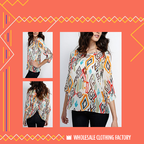 Featured Item: White Tribal Top Visit our site for more Wholesale ...