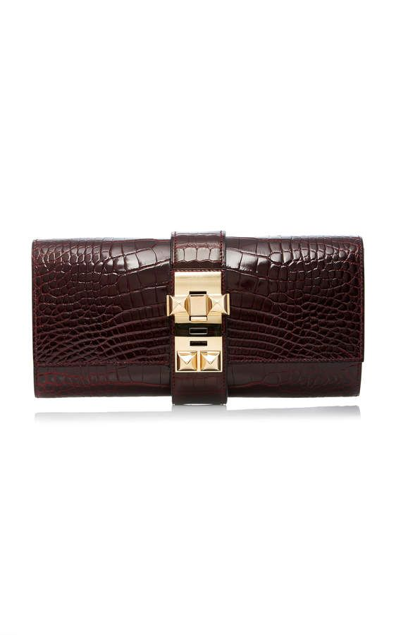 Hermès 23cm Bordeaux Shiny Alligator Medor Heritage Auctions Special Collection Best Online 2018 Sale Online Buy Cheap Low Shipping 5KvL3zhw