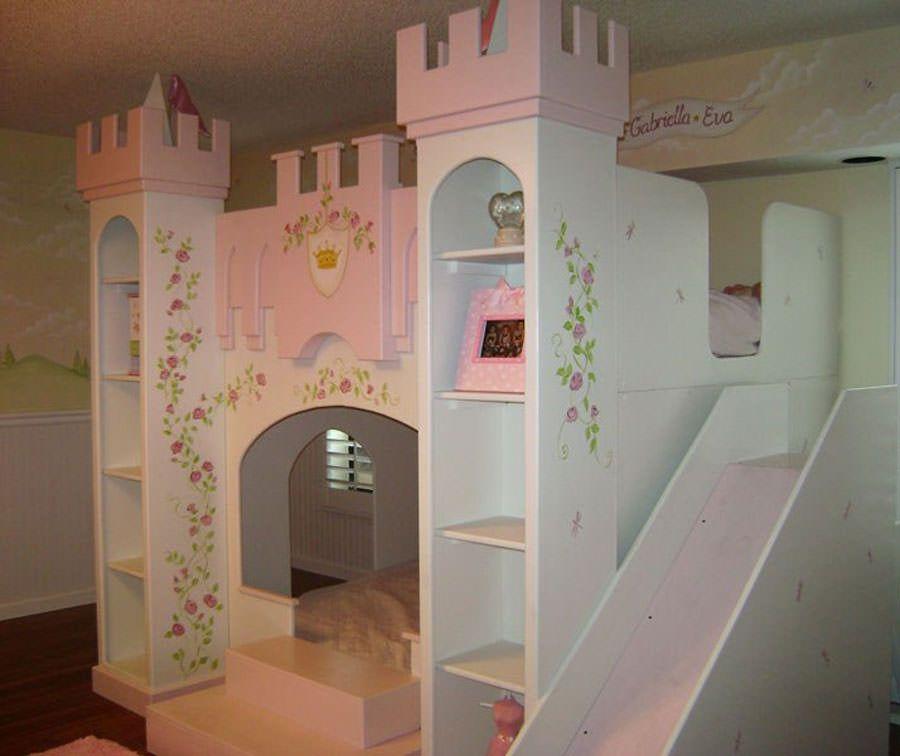 20 meravigliose camerette da principessa disney per bambine idee per bambini pinterest - Cameretta da principessa ...