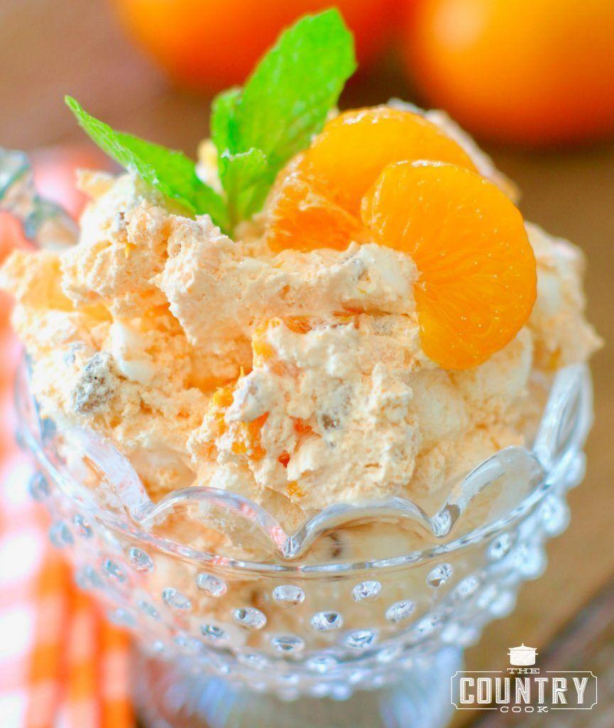 weight watchers orange fluff recipe orange fluff cottage