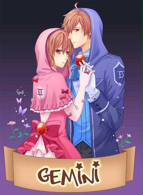 Anime Characters Gemini : Gemini song tử cung pinterest