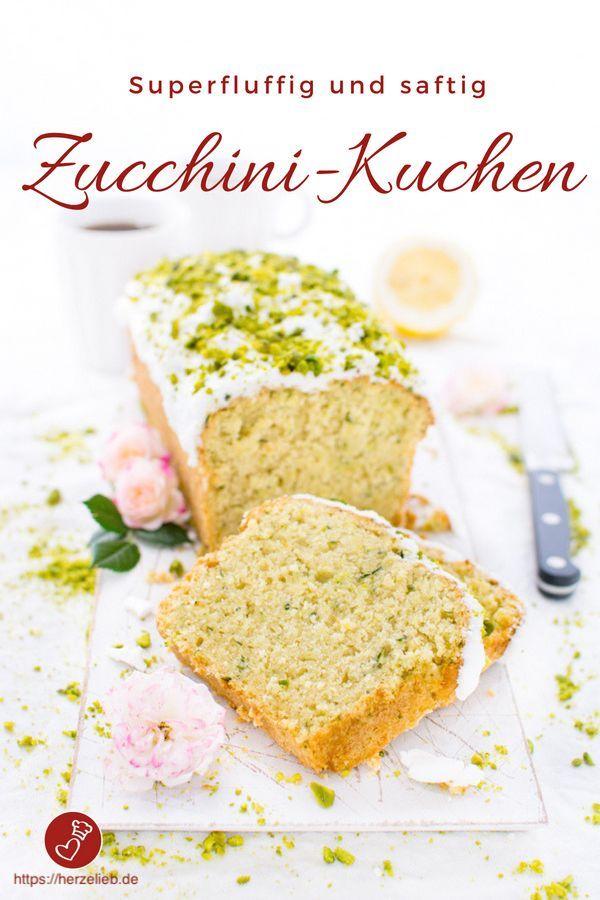 Photo of Zucchini cake recipe – fresh with lots of lemon