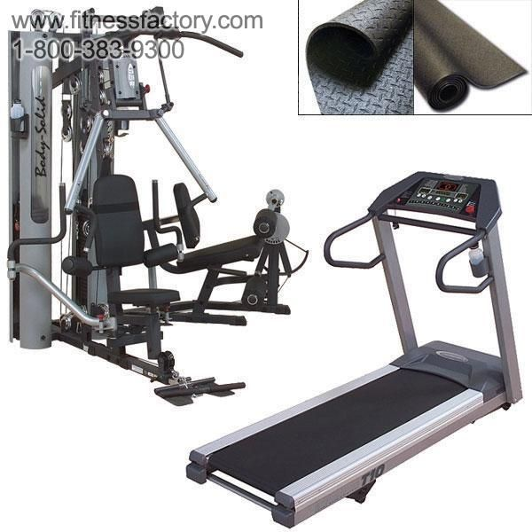 Perfect 10 Gym and Treadmill Combo  Everything you need to get in shape with the best equipment available! Save $1,500 when you buy this package instead of individual items, and get free shipping on everything.