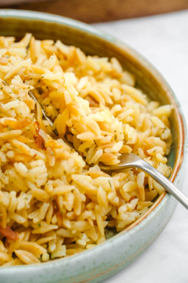 Easy Rice Pilaf - Easy Peasy Meals