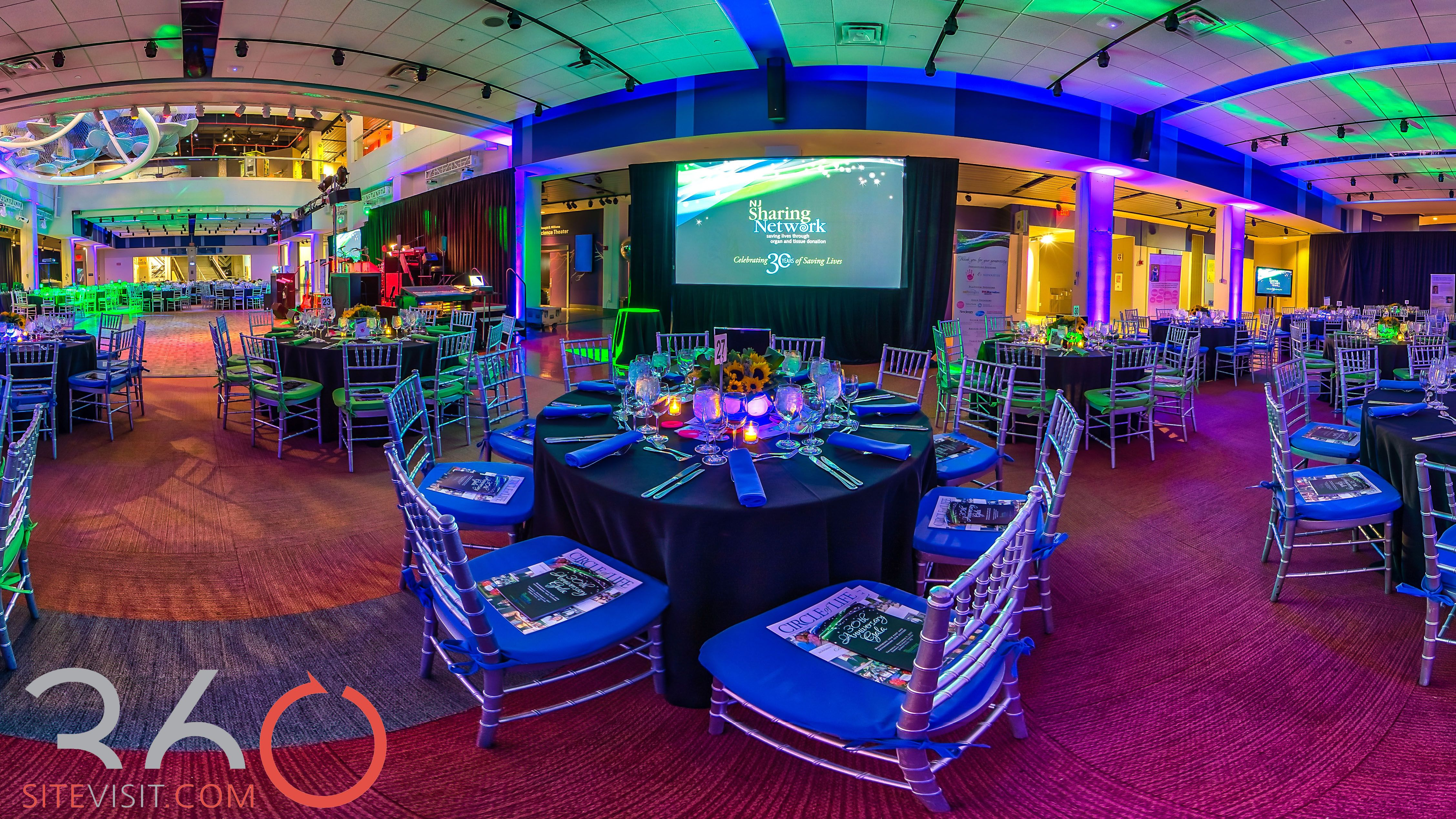 Liberty Science Center, wedding and event venue. full
