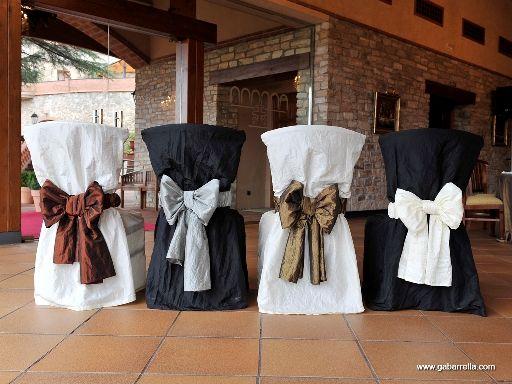 #decoración #sillas #boda #masdesantllei