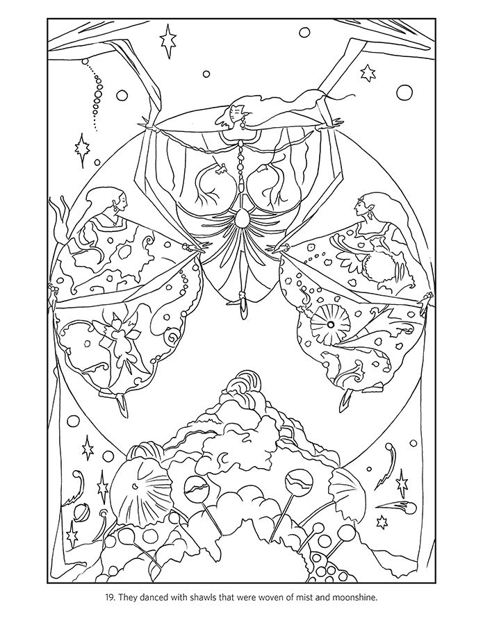 Harry Clarke Coloring Book Coloring Books Coloring Pages Harry Clarke