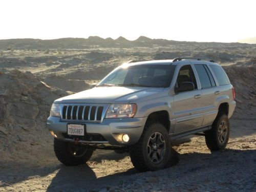 2004 Jeep Grand Cherokee Overland V8 4x4 Looks Just Like Mine But Mines A 2002