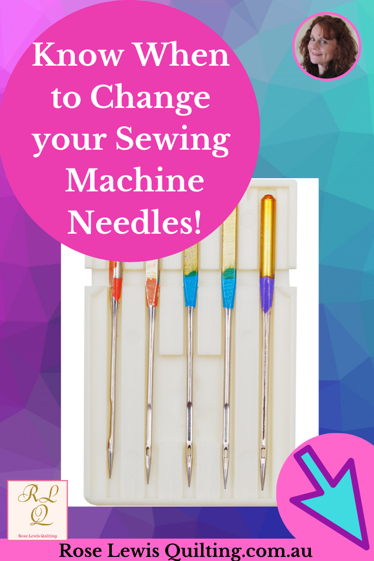 How do you know when to change your sewing machine needle ...