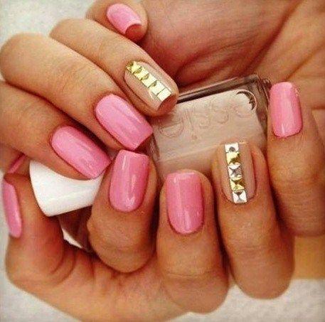 imagenes de manicure juvenil +50 [Diseños Faciles] Para Hacer En ...