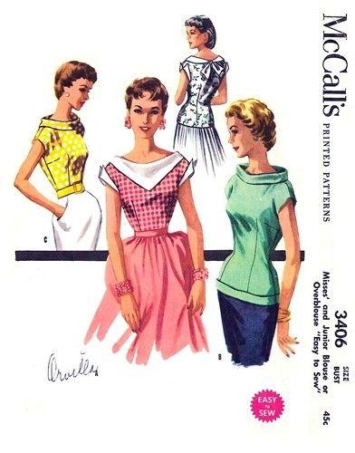 "I like the ""Kerchief style"" collar"