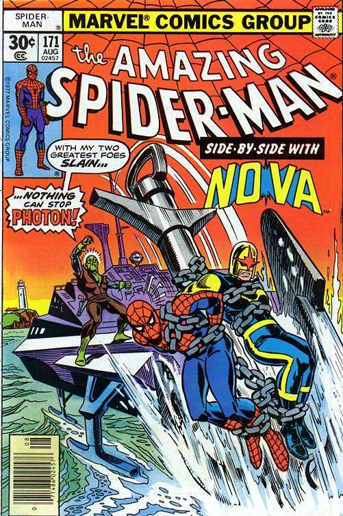 Amazing Spider Man 171 By Ross Andru Frank Giacoia Spiderman Comic Amazing Spiderman Marvel Comics Covers