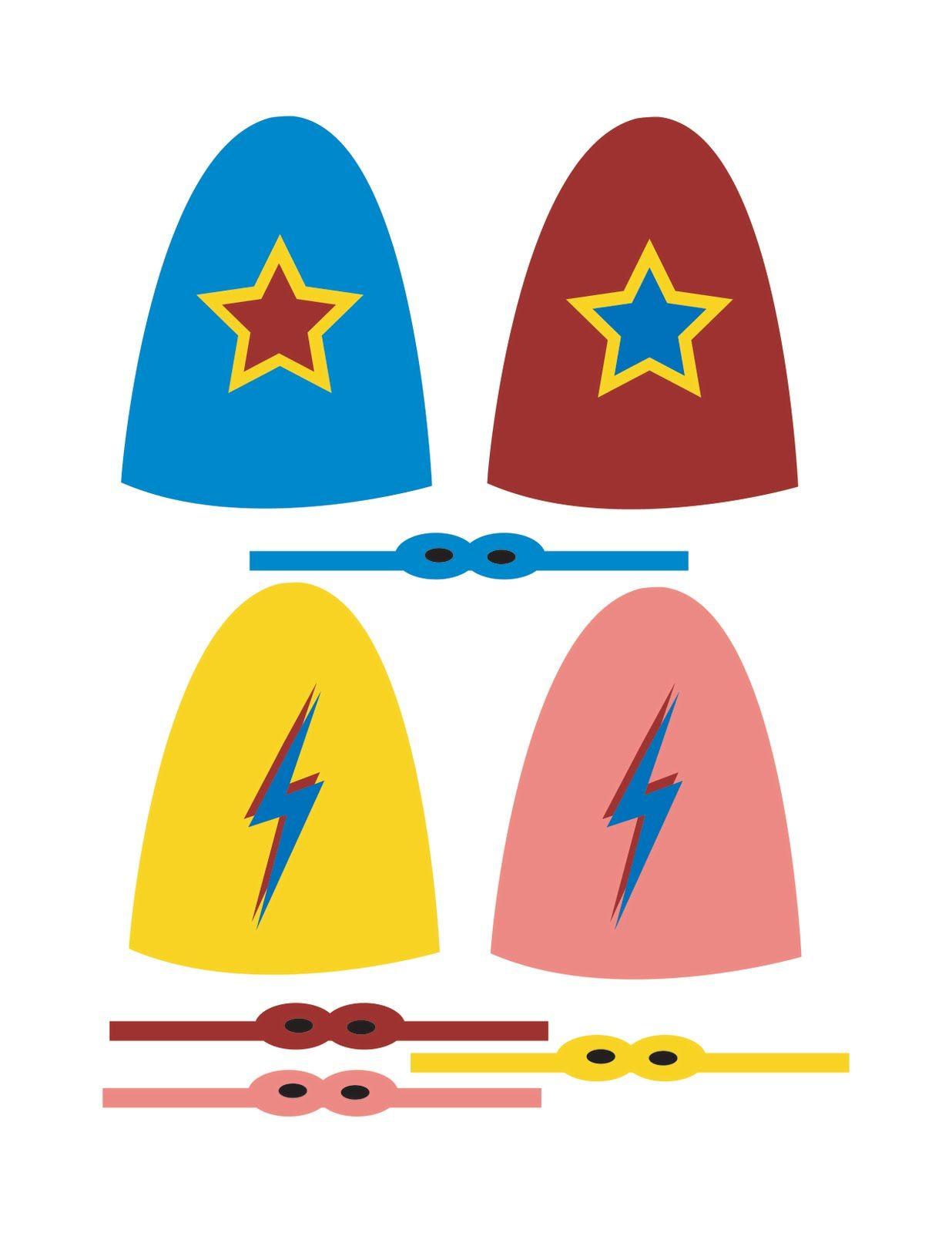 Zakka Life New Superhero Lollipop Templates Sulleys Birthday
