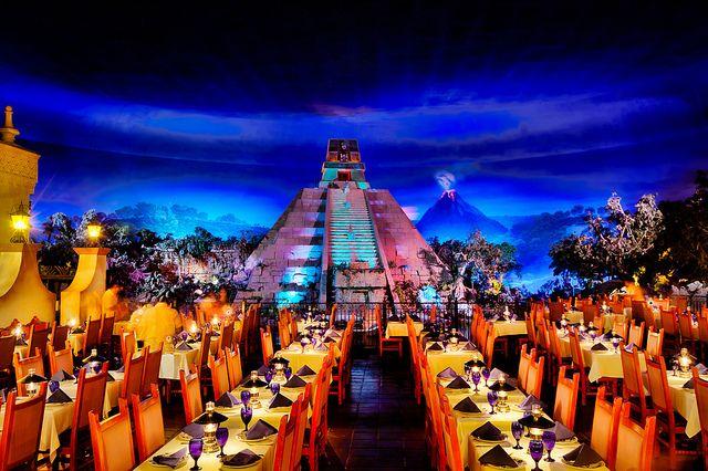 San Angel Inn Restaurant Epcot Mexico Pavilion By Scott Sanders Ssanders79 Via Flickr