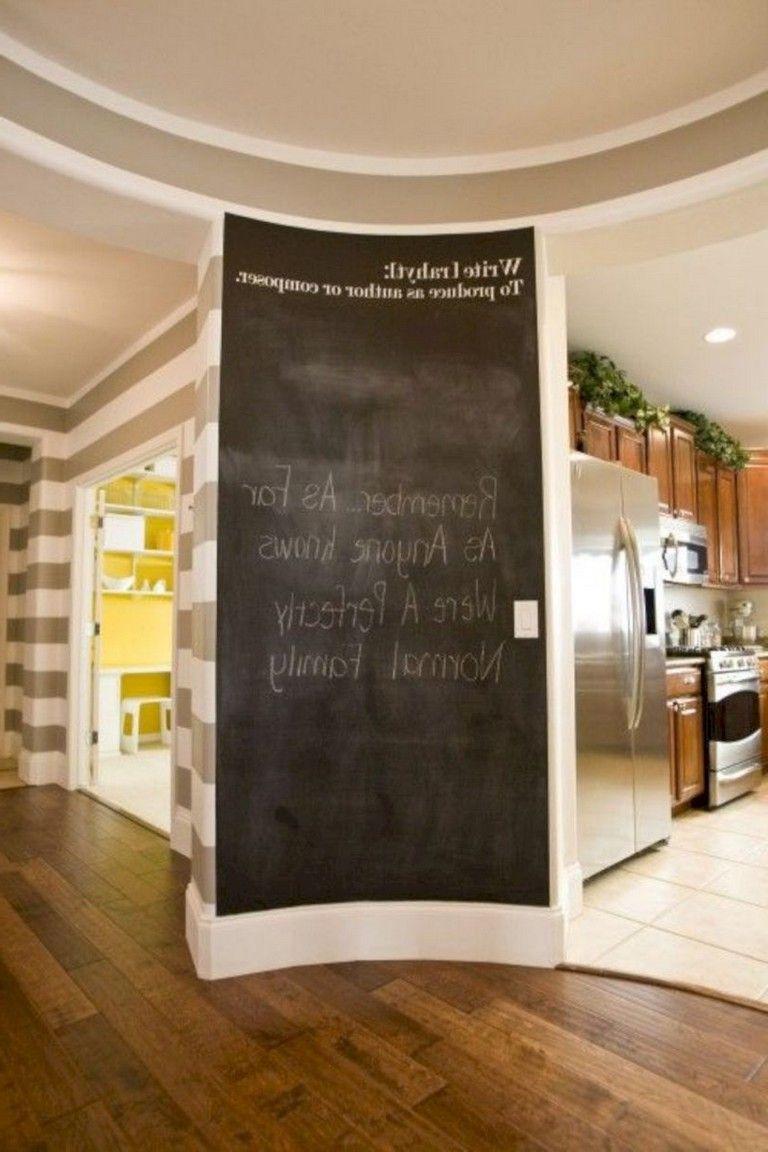 40 brilliant practical chalkboard decor ideas for your