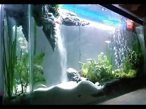 Tutorial WaterFall Aquascape (Air Terjun Aquascape ...