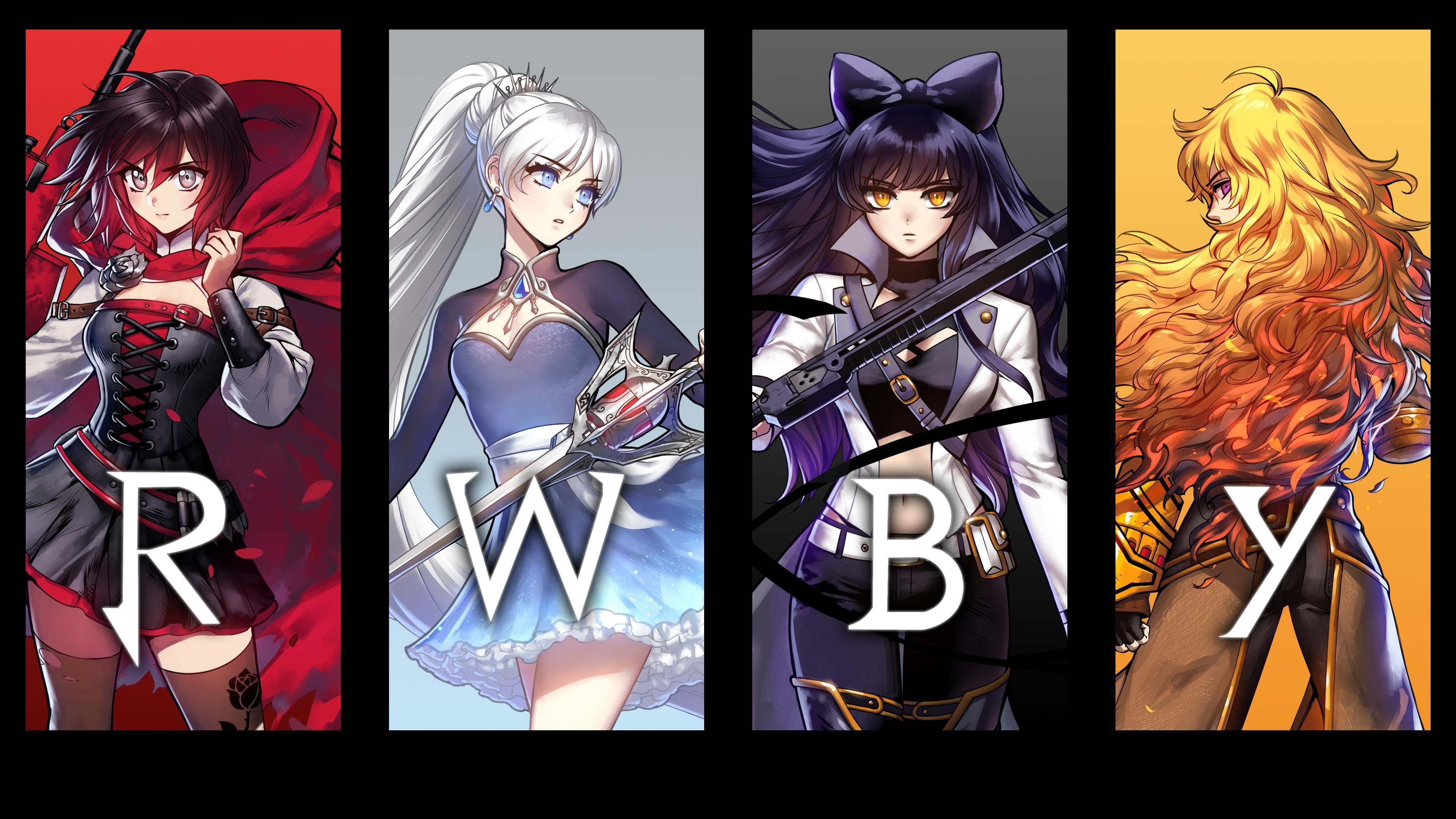 Pin by Norman Winne on anime Rwby poster, Rwby, Rwby